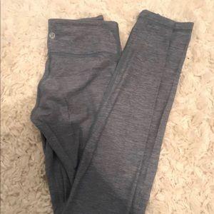 Lululemon leggings, light blue, size 2